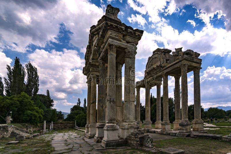 Aphrodite świątynia zdjęcia royalty free