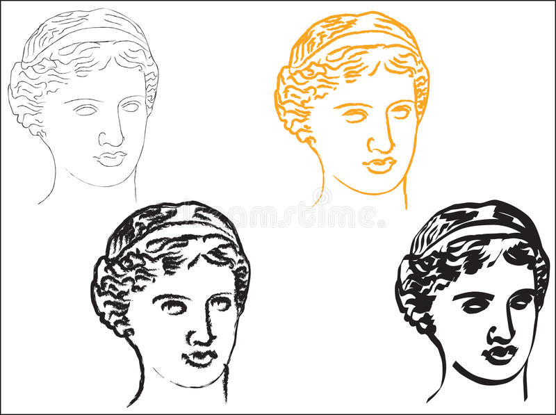 Download Aphrodite stock vector. Image of classical, aphrodite - 16181611