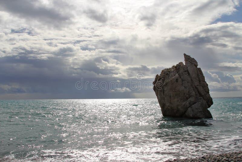 Aphrodite Rock fotos de archivo libres de regalías
