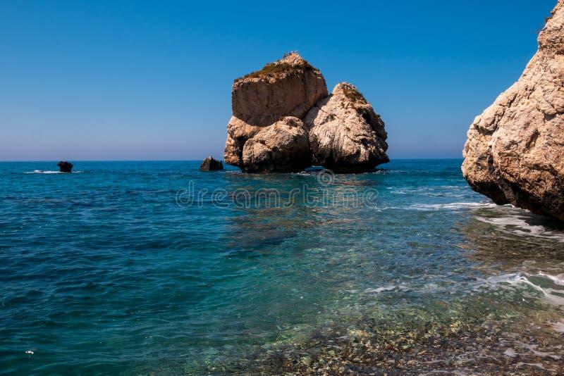 Aphrodite Rock foto de archivo libre de regalías