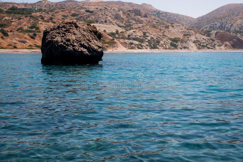 Aphrodite Rock fotos de archivo