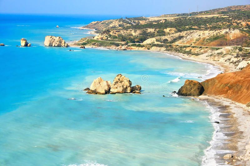 Download Aphrodite's Legendary Birthplace Stock Image - Image: 13355837