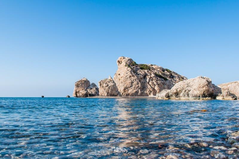 Aphrodite's Rock stock images