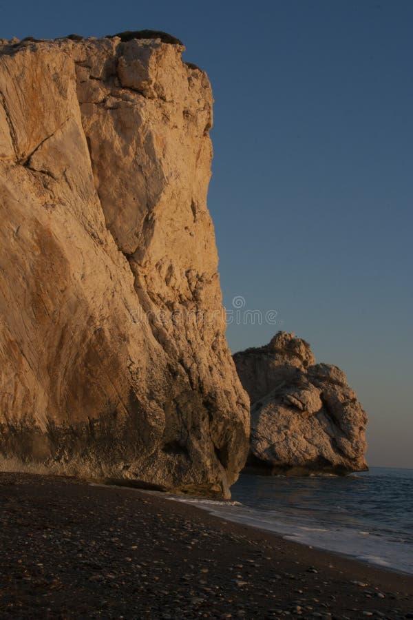 Aphrodite ` s skała zdjęcia stock
