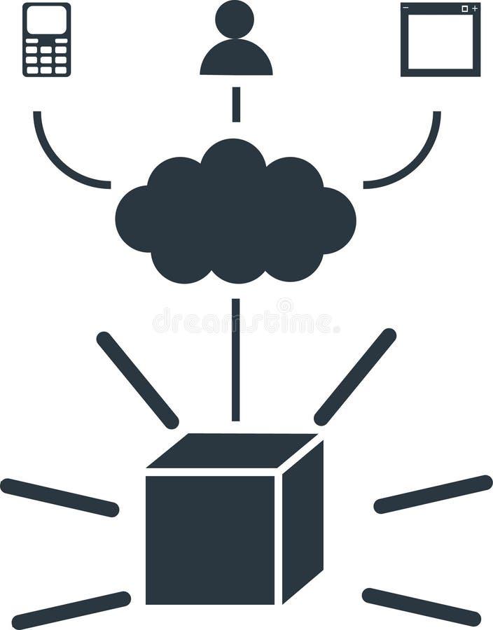 API流程图 免版税库存图片