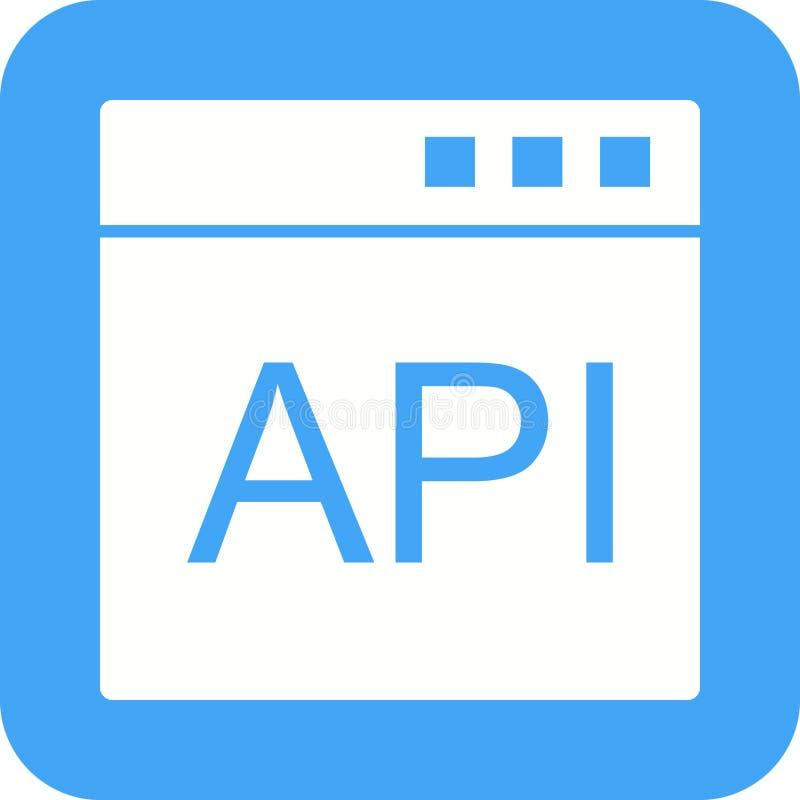API vektor illustrationer