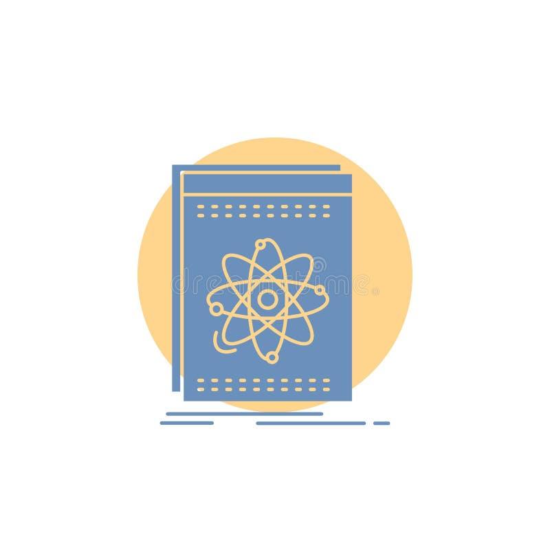 API, Anwendung, Entwickler, Plattform, Wissenschaft Glyph-Ikone stock abbildung