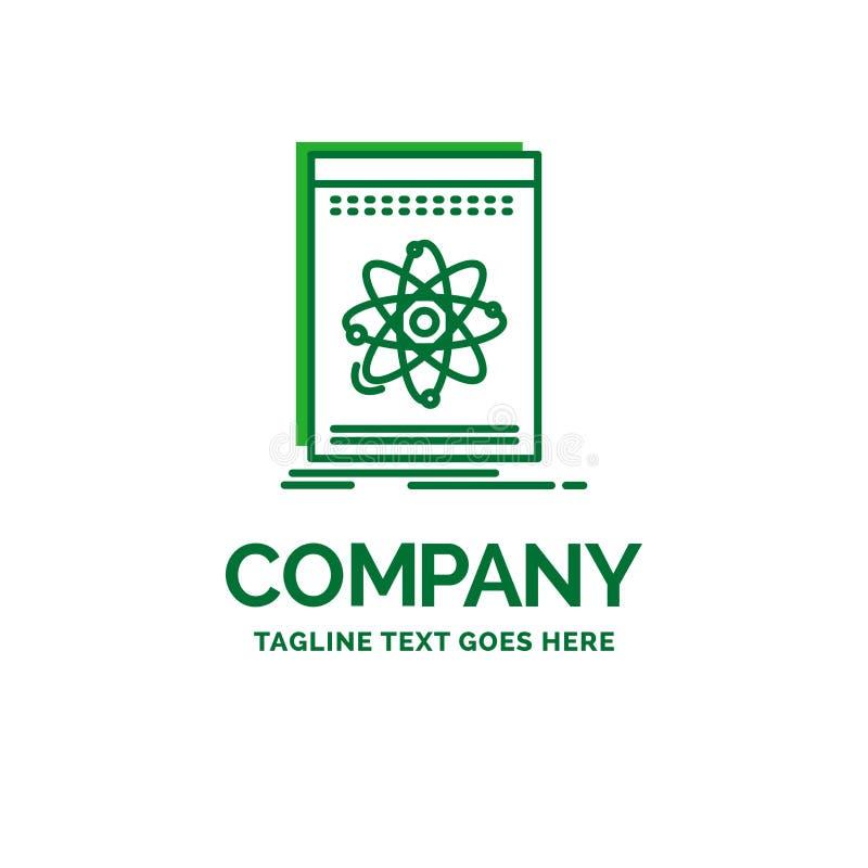 Api, aplicação, colaborador, plataforma, log liso do negócio da ciência ilustração stock
