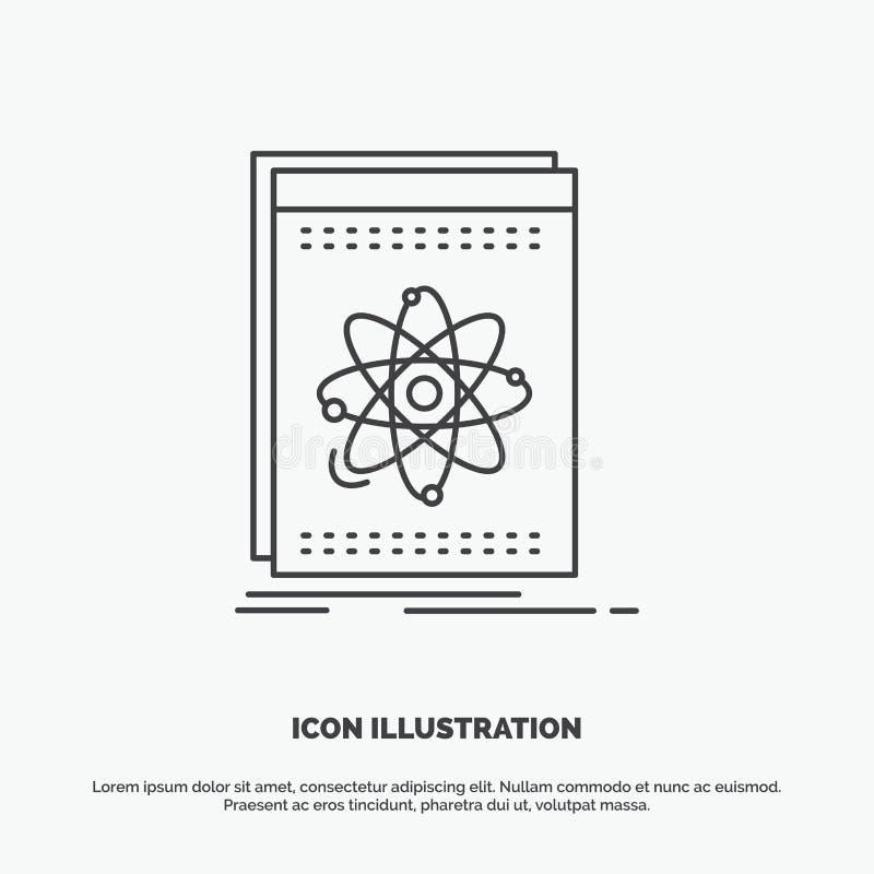 Api, zastosowanie, przedsi?biorca budowlany, platforma, nauki ikona Kreskowy wektorowy szary symbol dla UI, UX, strona internetow royalty ilustracja