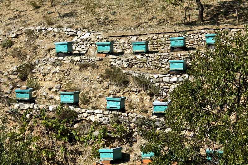 Download Apiary beehives stock image. Image of mediterranean, europe - 11363215