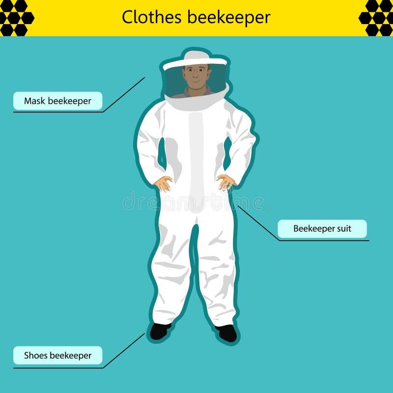 apicultor stock de ilustración