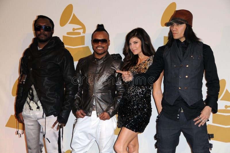 """apl.de.ap, Black Eyed Peas, Black Eyed Peas, Fergie, Fergie Ferguson, Stacy """"Fergie"""" Ferguson, Stacy 'Fergie' Ferguson, Stacy Ferg fotografía de archivo libre de regalías"""