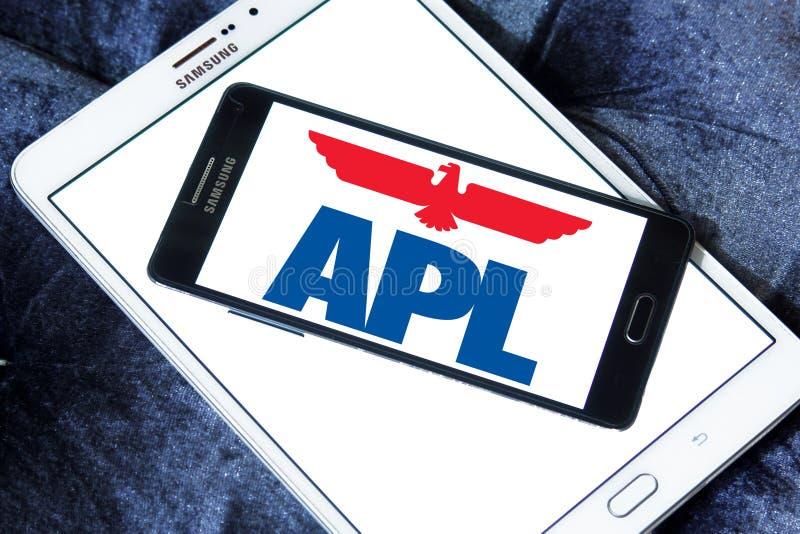 Apl towarzystwa żeglugowe logo zdjęcie royalty free