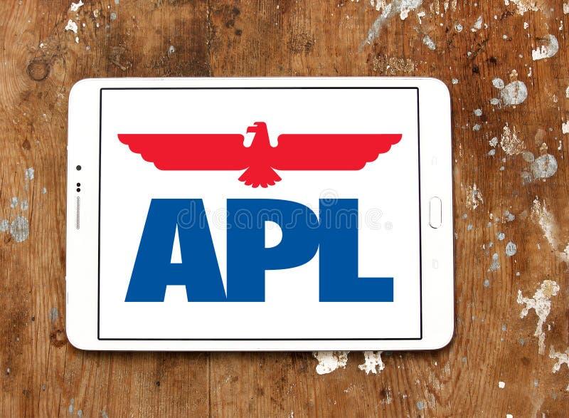 Apl towarzystwa żeglugowe logo zdjęcia royalty free