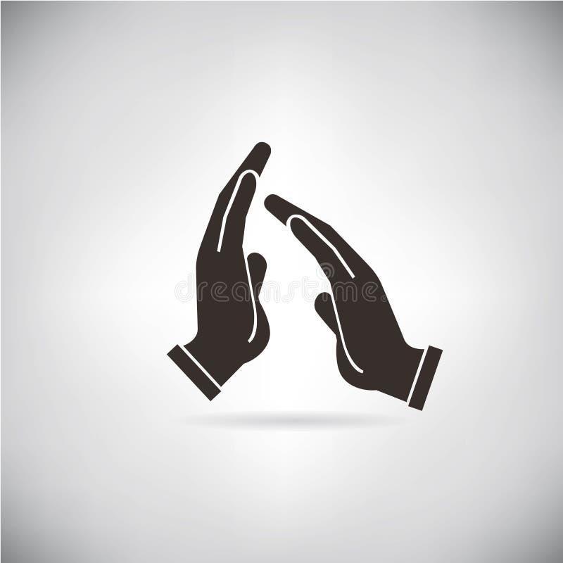Aplauda, las manos ilustración del vector