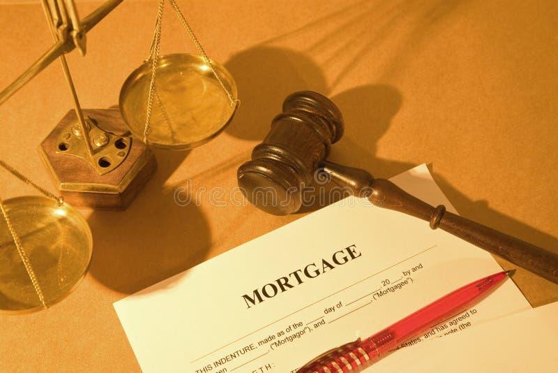 Aplicação de hipoteca fotografia de stock royalty free
