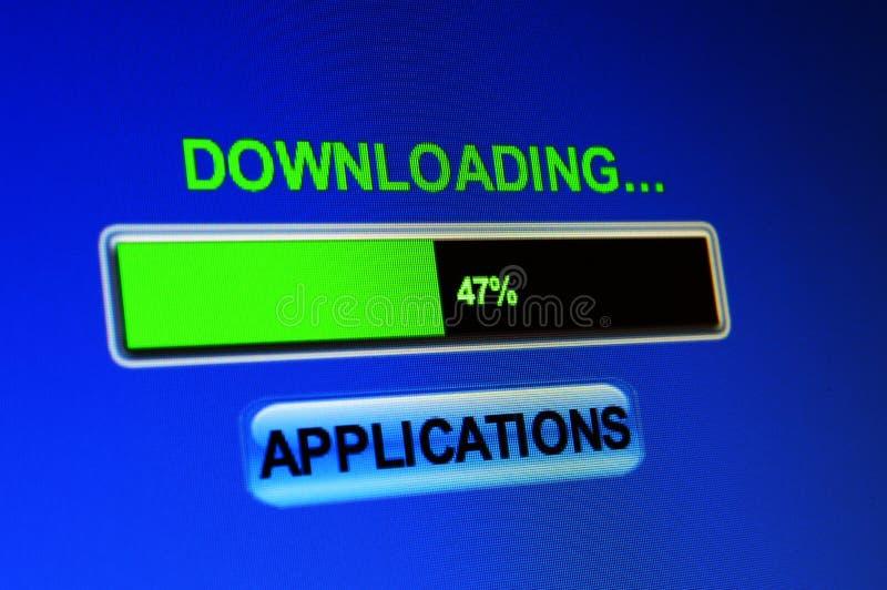 Aplicações do fazendo download fotos de stock royalty free