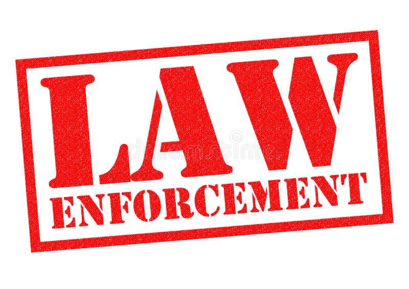 Aplicación de ley libre illustration
