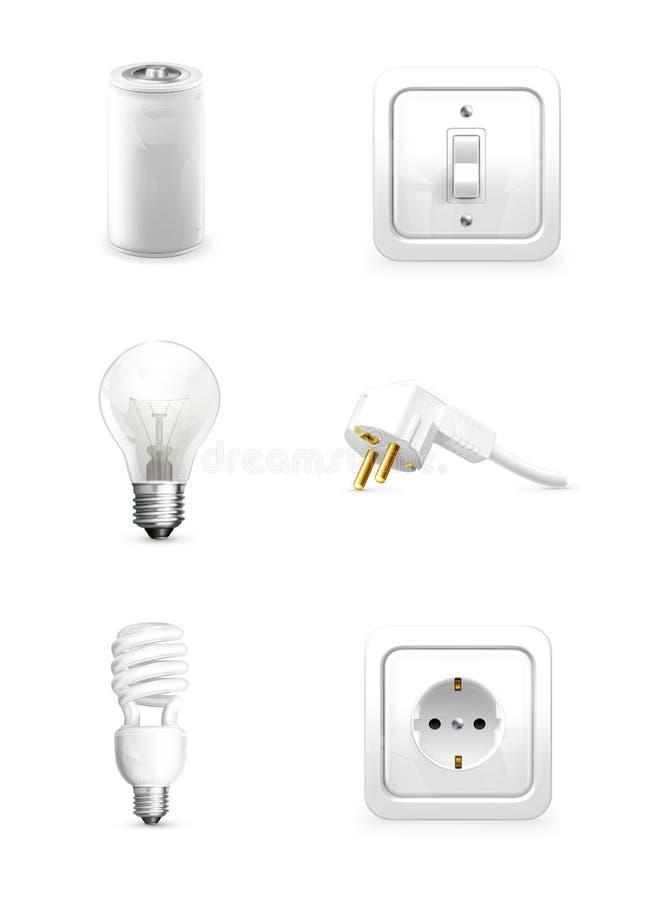 Aplicación eléctrica libre illustration