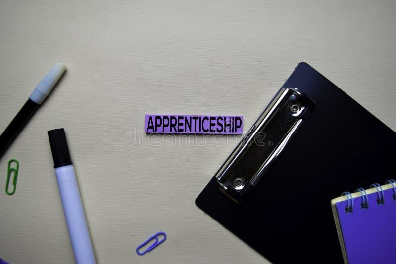 Aplikantura tekst na kleistych notatkach z biurowego biurka pojęciem zdjęcie stock