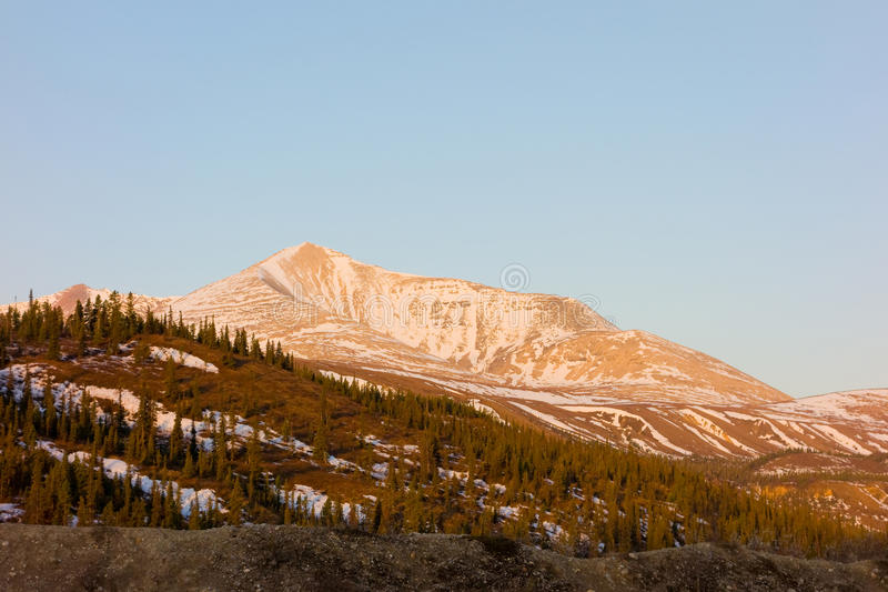 An apline scene in the rockies royalty free stock photography
