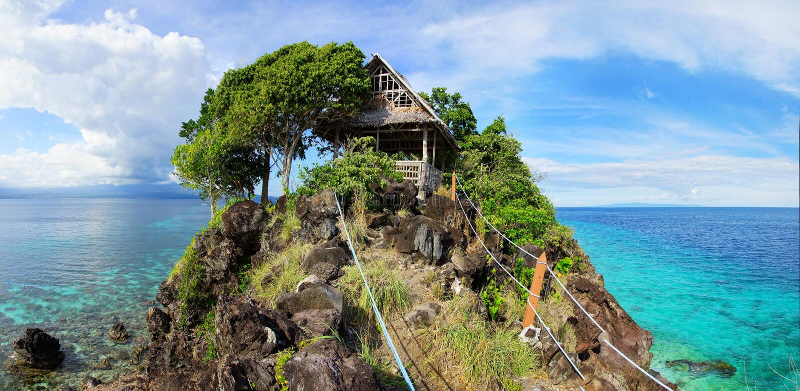 Apo海岛,菲律宾 免版税库存照片