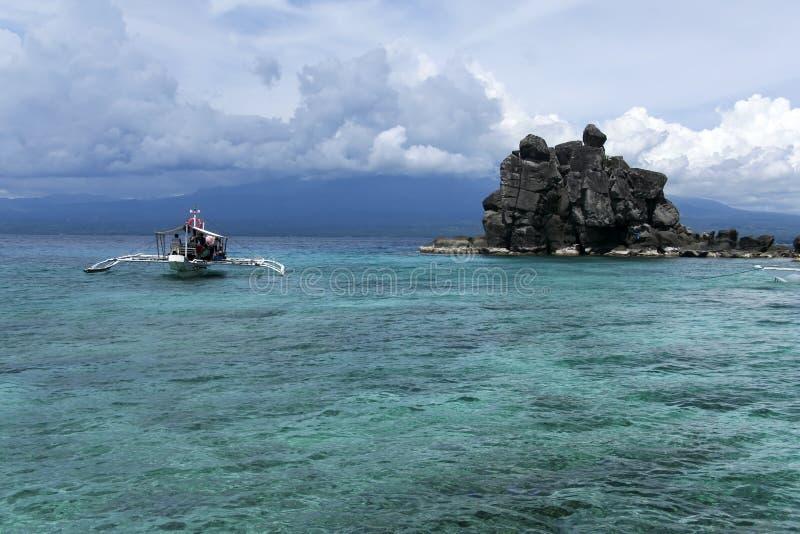 Apo-Inselsturzflugboot stockbild