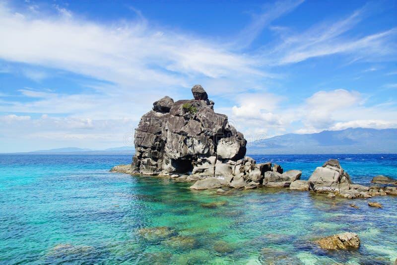 Apo island, Philippines stock photos
