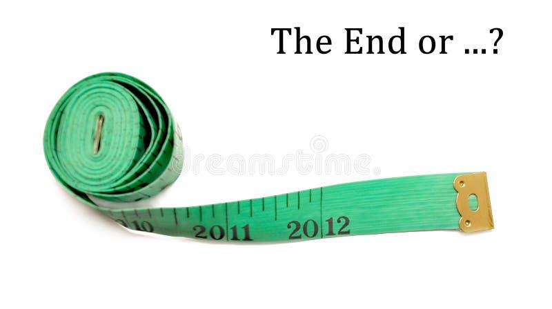 Apocalipse 2012 imagens de stock