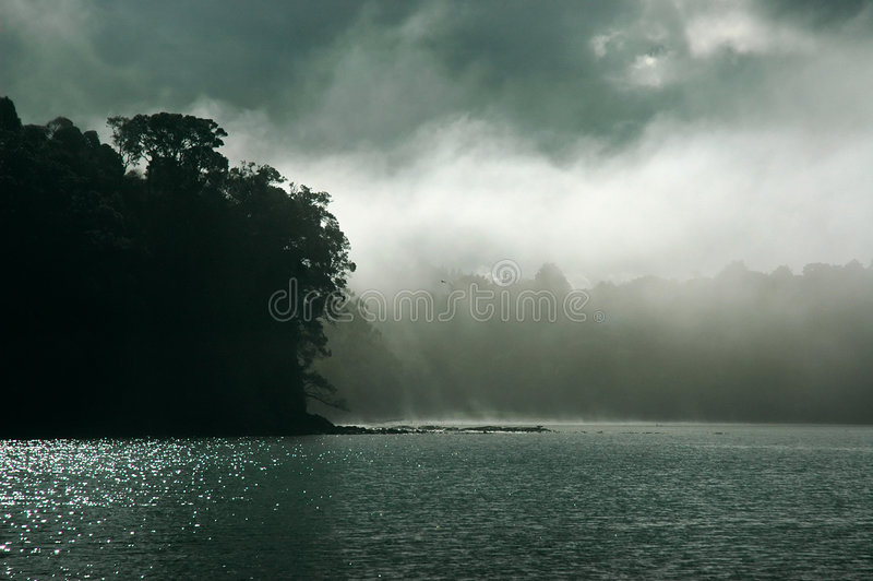 Apocalipse, natureza dramática fotografia de stock
