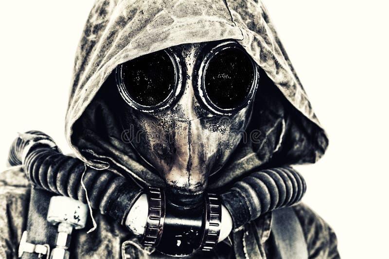 Apocalisse nucleare della posta fotografia stock libera da diritti