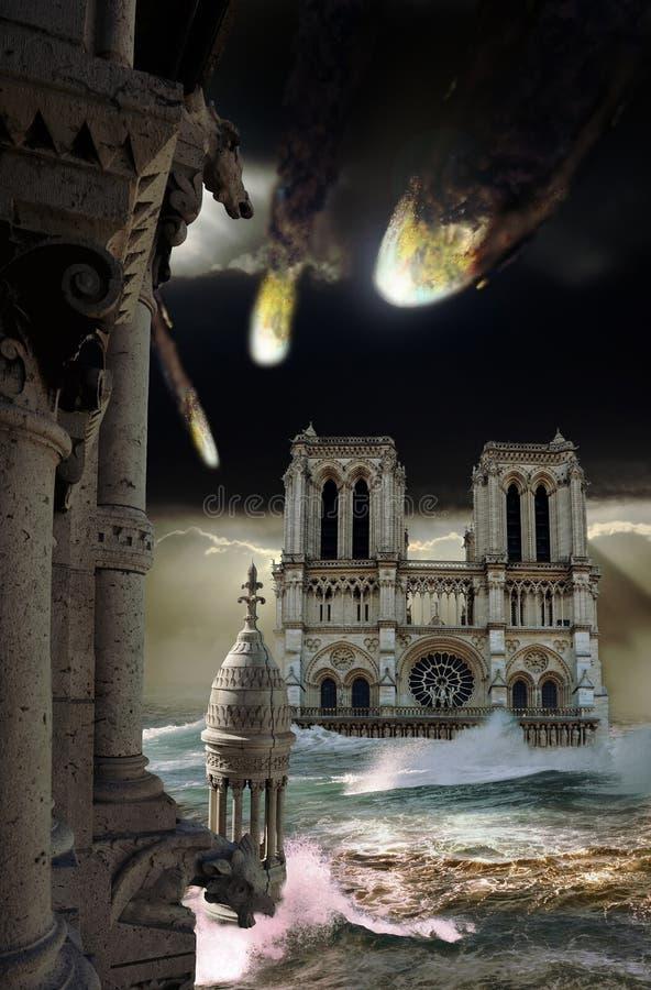 Apocalypse lizenzfreie abbildung
