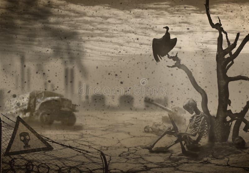 apocalypse ilustração stock