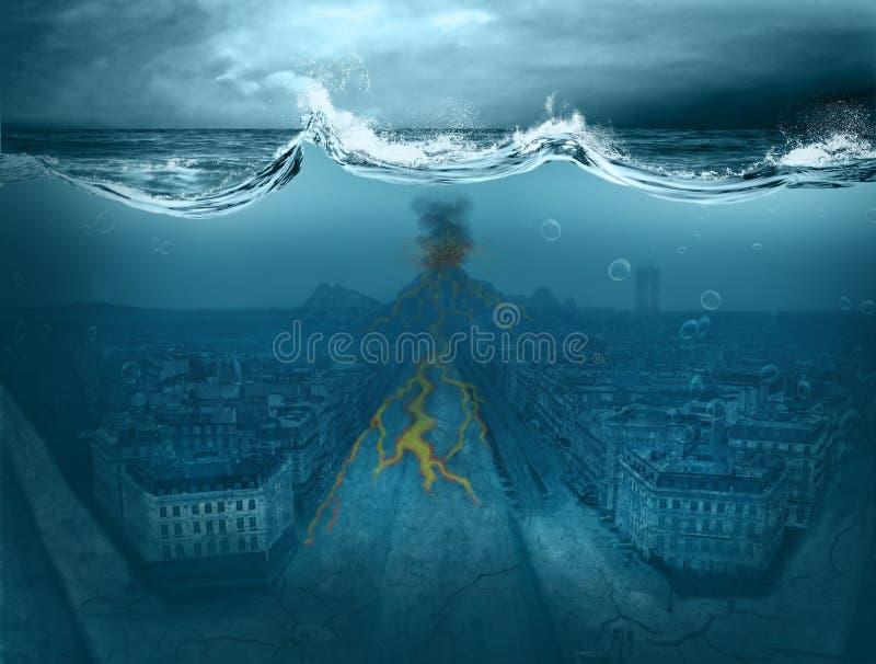 apocalypse ilustracja wektor