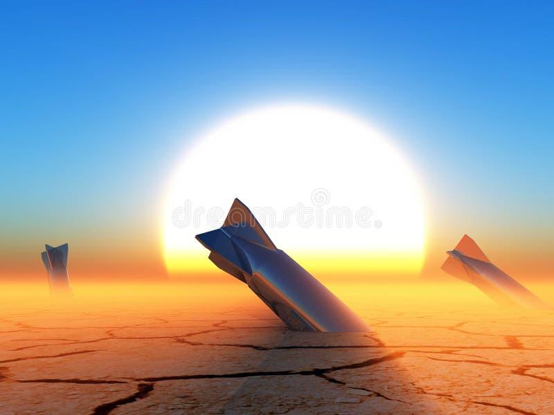 apocalypse ilustración del vector