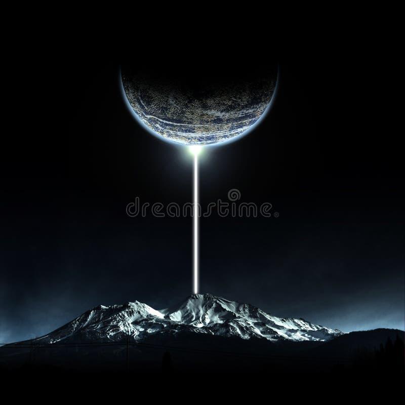 Apocalypse-Berg stockfoto