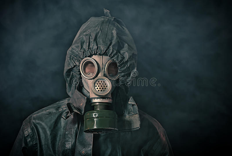 Apocalypse soldier stock images