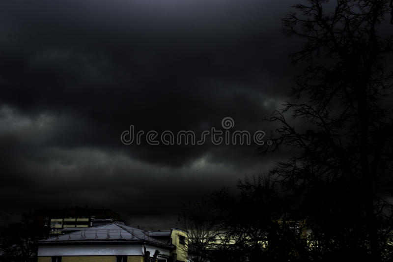 Apocalyptic Sky royalty free stock photography