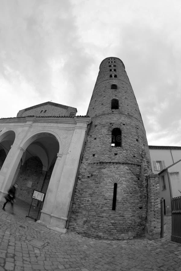 apollinare bazyliki nuovo sant zdjęcie stock