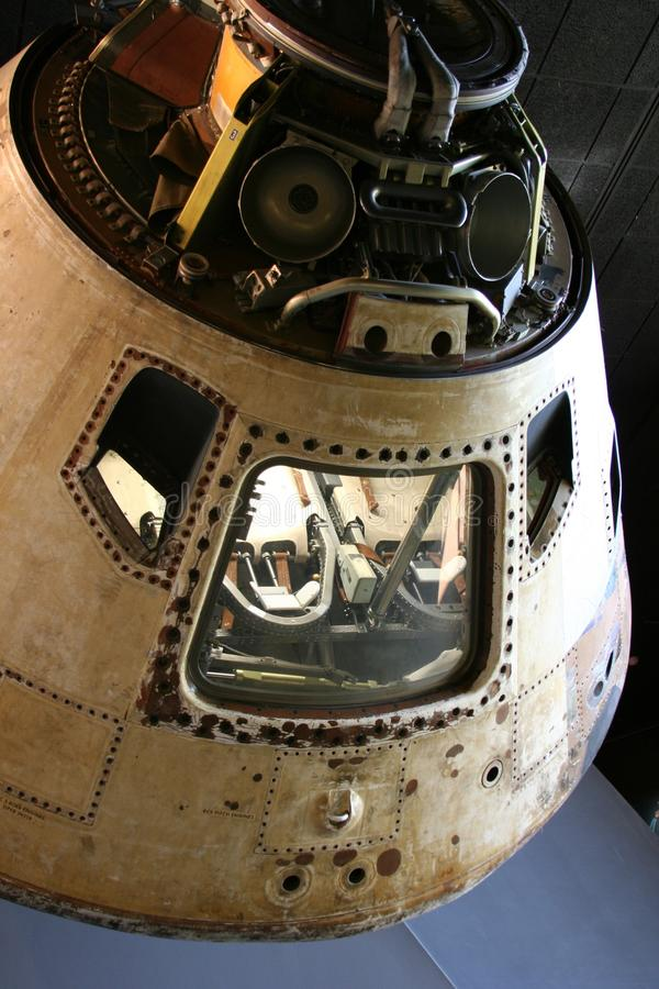Apollo 11 de Module van het Bevel stock afbeeldingen