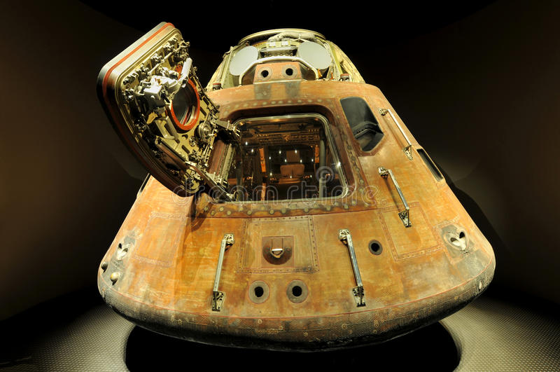 Apollo 13 LEM Capsule Editorial Stock Image