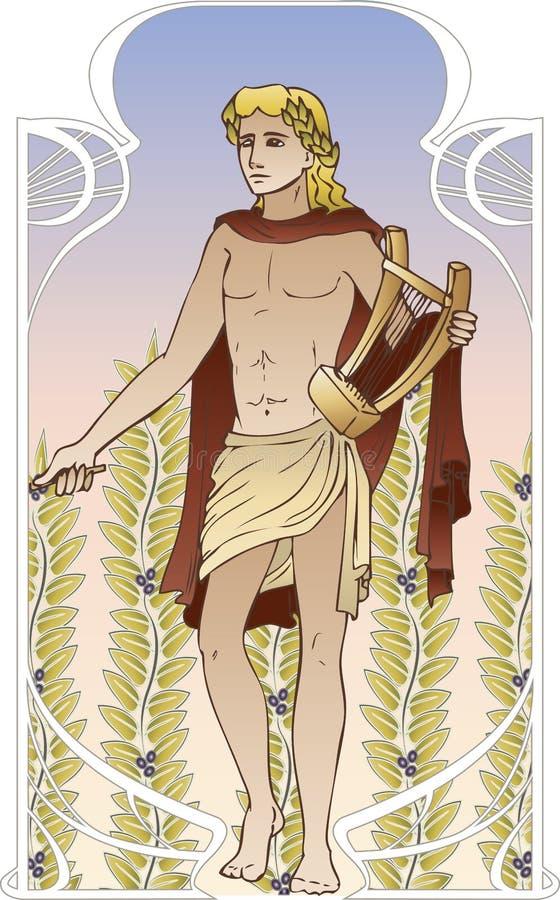 Apollo illustration de vecteur