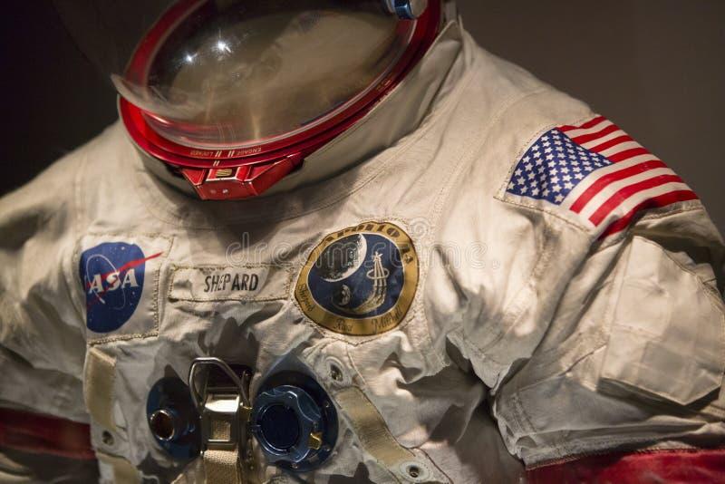 Apollo Astronautyczny kostium zdjęcia royalty free