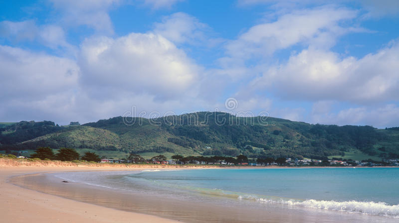 Apollo Bay. On a pleasant morning stock photo