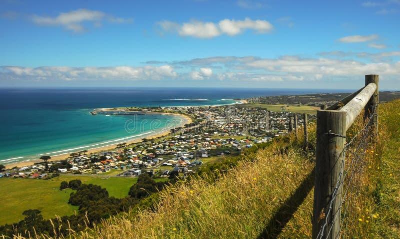 Apollo Bay. Australian Pacific coast. Apollo Bay stock photo