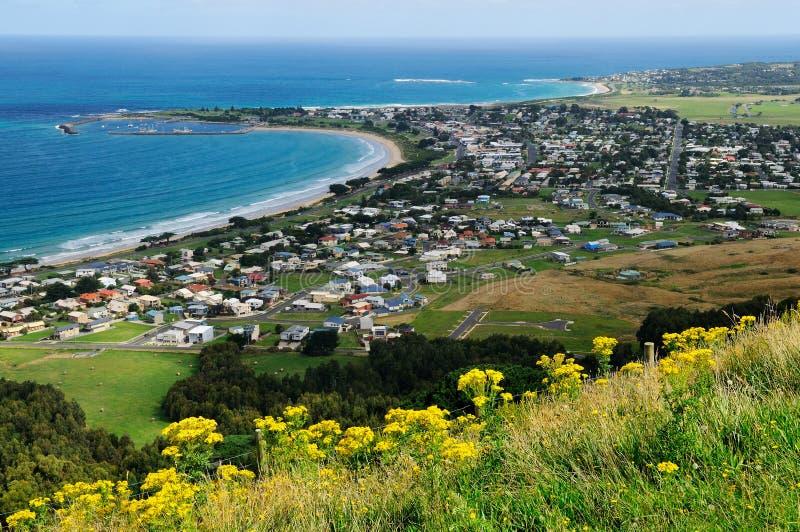 Apollo Bay, grande estrada do oceano, Austrália imagens de stock royalty free