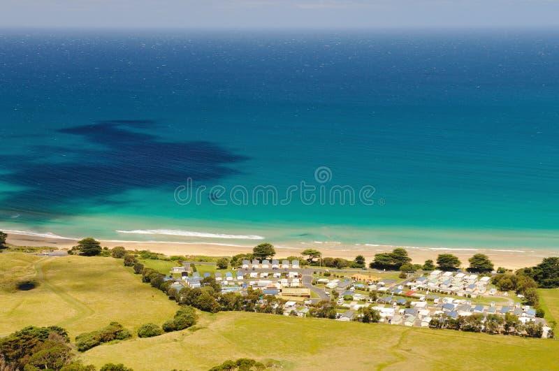 Apollo Bay stor havväg, Victoria, Australien royaltyfri foto