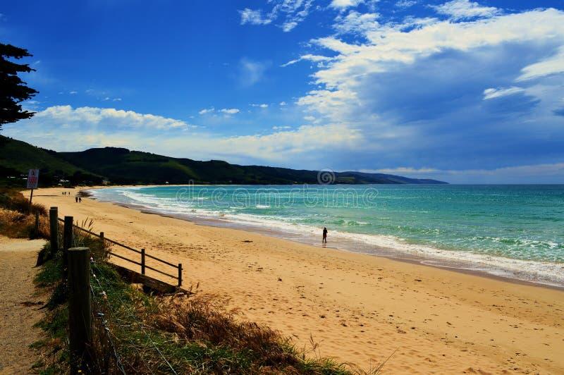 Apollo Bay Victoria, Australien royaltyfri fotografi