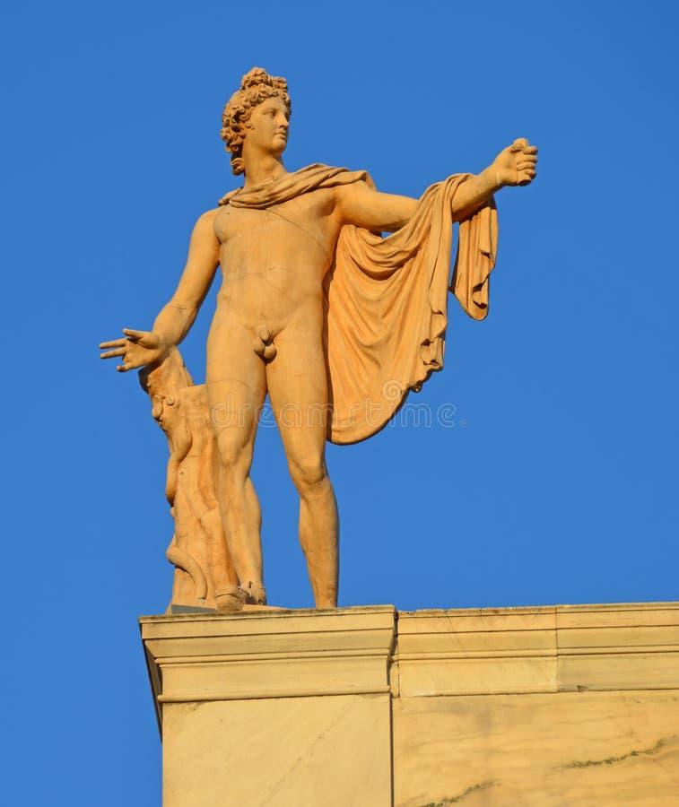 Apollo belweder obrazy royalty free
