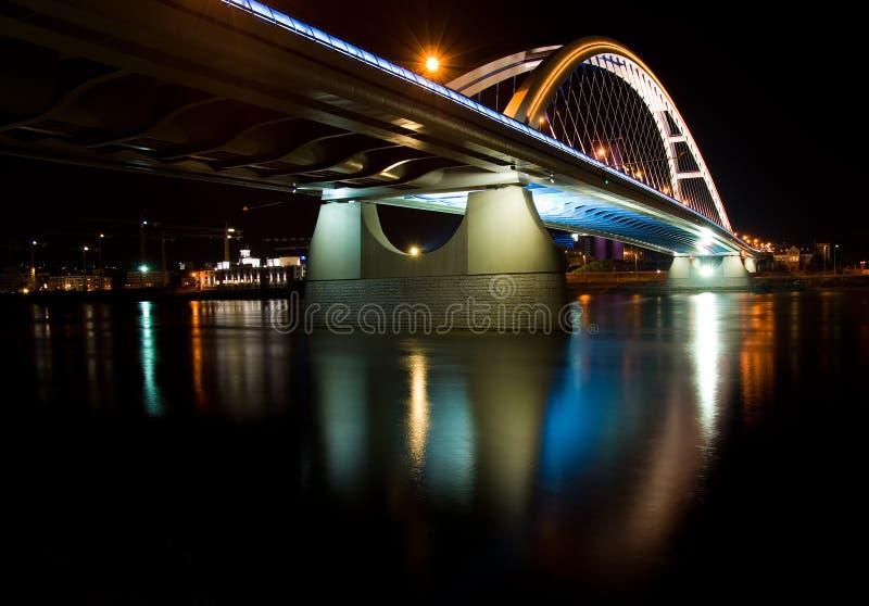 Apollo Bridge In Bratislava Stock Photography